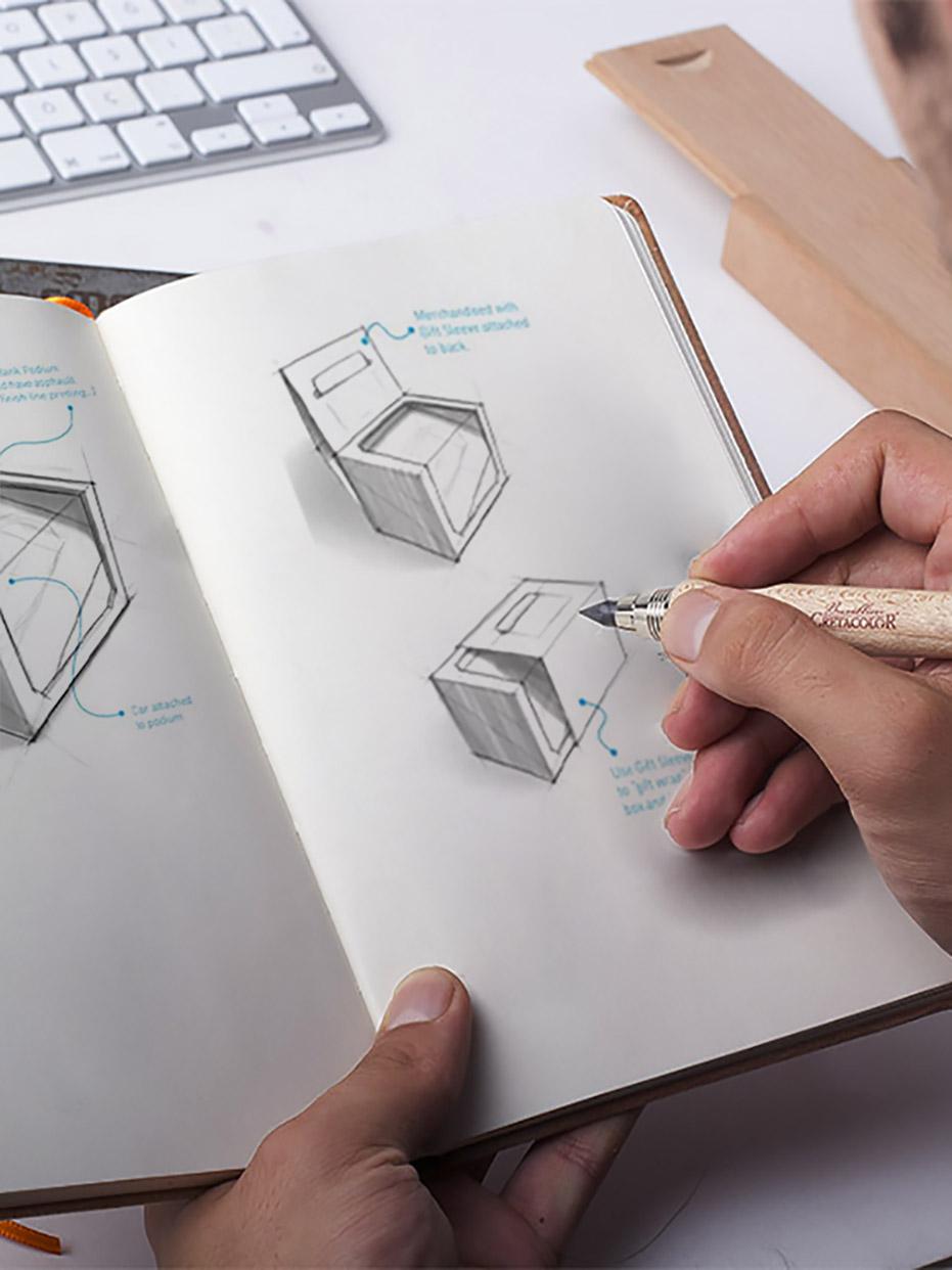 Diseñando el packaging de una empresa de alimentación